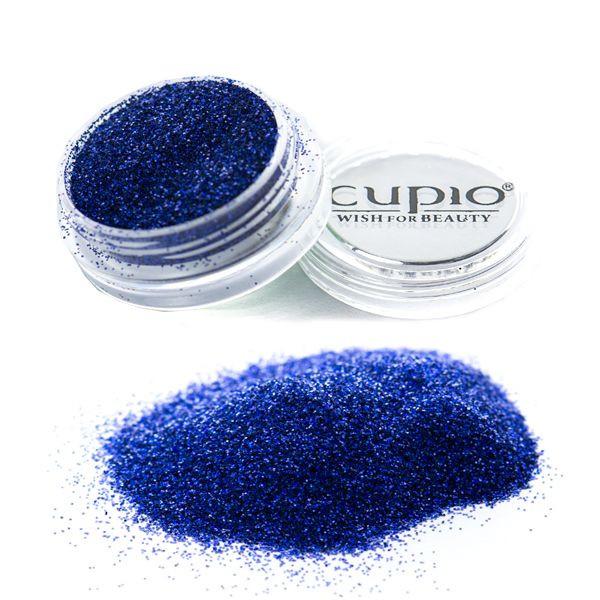 Sclipici holografic albastru