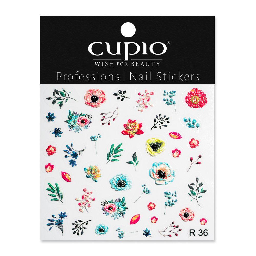 Cupio 3D Nail Art Sticker R36