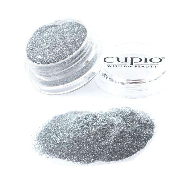 Cupio Extra Fein Glitzer Silver