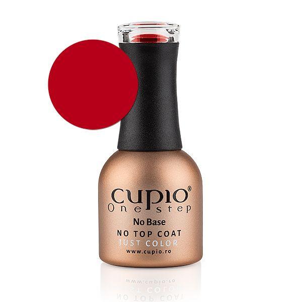 Cupio One Step Easy Off Gellack - Candy Apple Red 12 ml