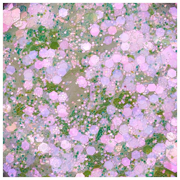 Cupio Pailletten Hexa Effect Pink