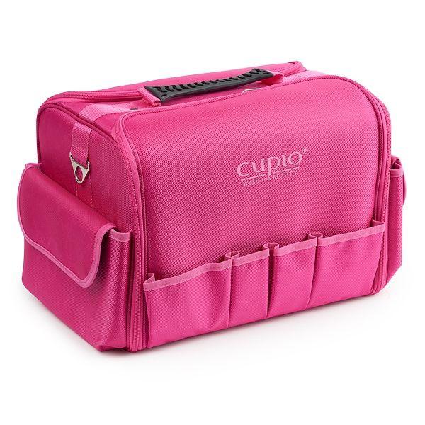 Kosmetik Tasche mit Fächern Pink