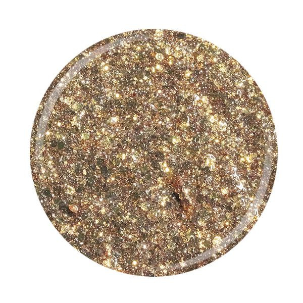 Cupio Glitzer Gel Superstar - Golden
