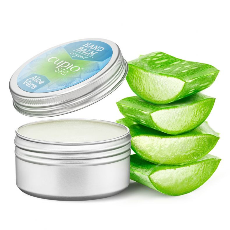 Cupio SPA - Hände und Nagelhaut Organische Balsam - Aloe Vera