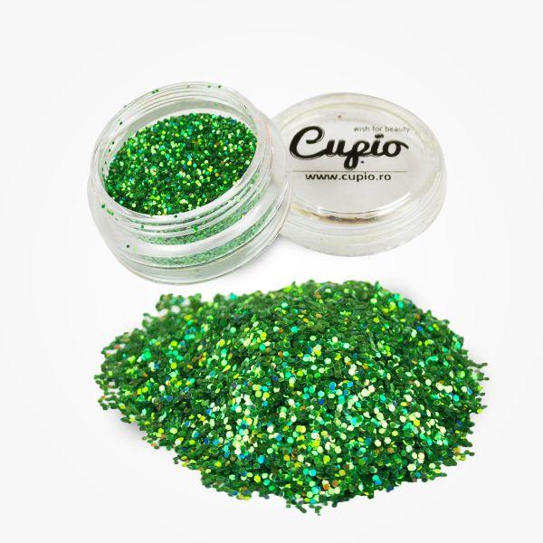 Cupio Pailletten Grün