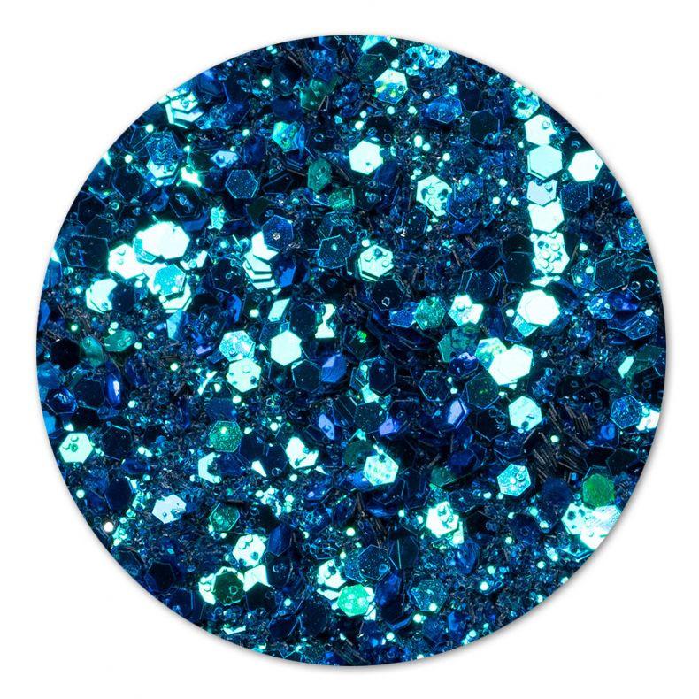 Paiete Chameleon Glitter Turquoise Blue